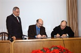 Signing Ceremony of the Cooperation Agreement between USEK and UTBM