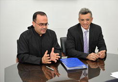 Signing of a cooperation agreement between the HCR and the CIT