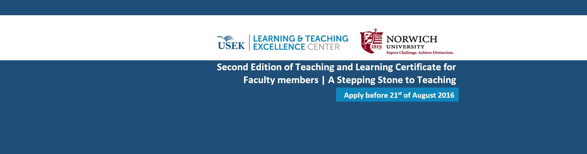 2nd Edition of Teaching and Learning Certificate for Faculty members | A Stepping Stone to Teaching