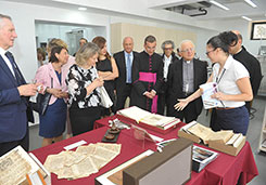 Opening Ceremony of the Program: Conservation, Restoration of Cultural Property and Sacred Art