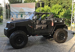 Launch of Lebanon's First Tactical Vehicle