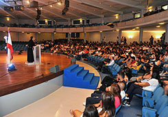 Orientation sessions for new students