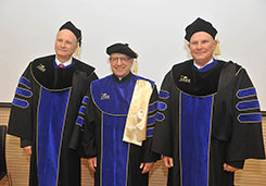 Doctorate Honoris Causa to Alexandre Jalkh and Pierre Jalkh