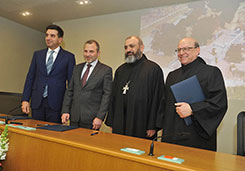 Signing Ceremony of the MoU: Safeguarding the Memory of Sacred Places