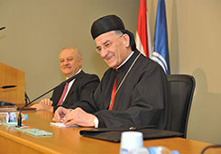 Debate with his Beatitude and Eminence Mar bechara Boutros Card. Rai